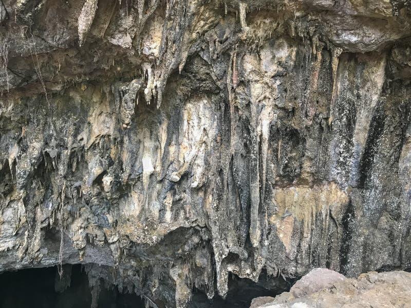 Textura del acantilado en el valle de la montaña en Phatthalung, Tailandia foto de archivo libre de regalías