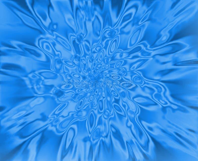 Textura del agua stock de ilustración