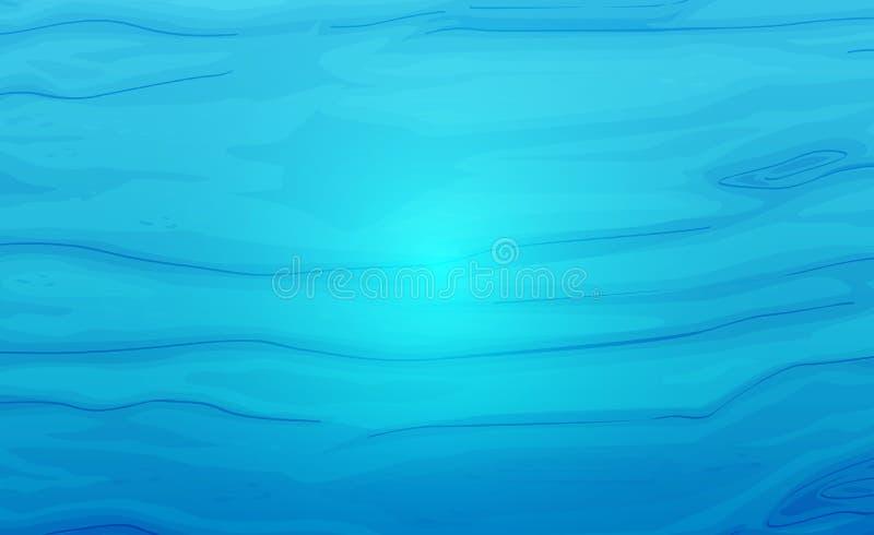 Textura del agua ilustración del vector