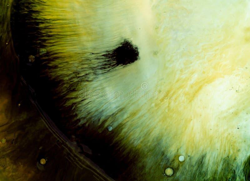 Textura del agua y de la pintura imágenes de archivo libres de regalías