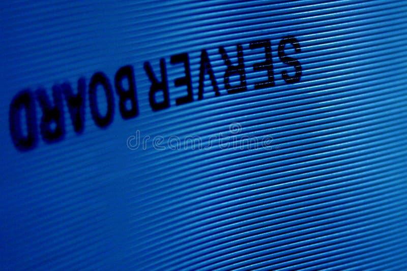 Textura del alambre del ordenador con el deletreado fotografía de archivo