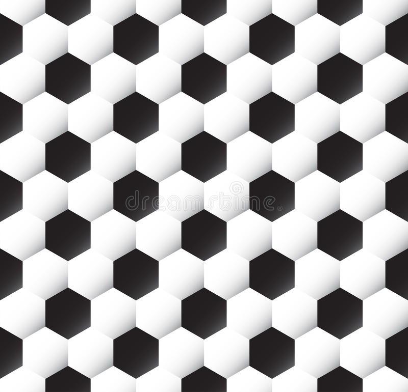 Textura del balón de fútbol stock de ilustración