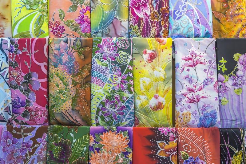 Textura del batik imagen de archivo