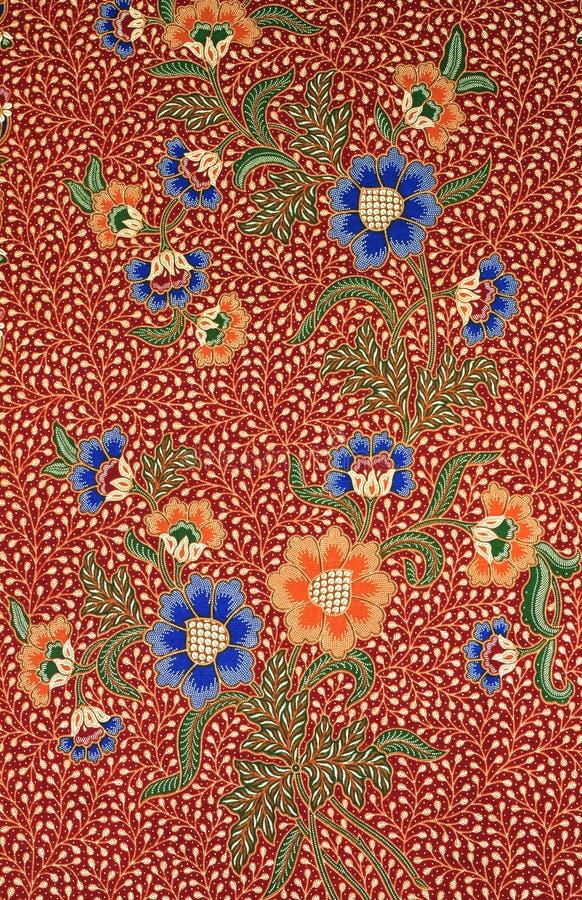Textura del batik hecha en Malasia foto de archivo libre de regalías
