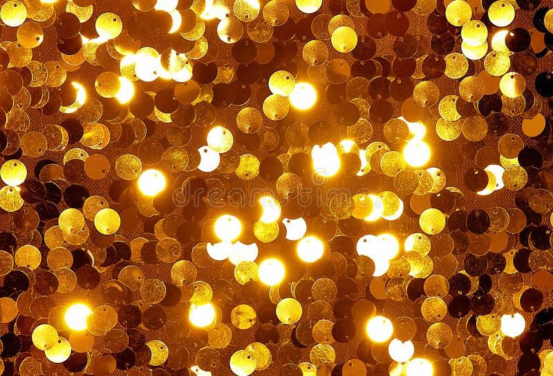 Textura del brillo del oro imagen de archivo libre de regalías