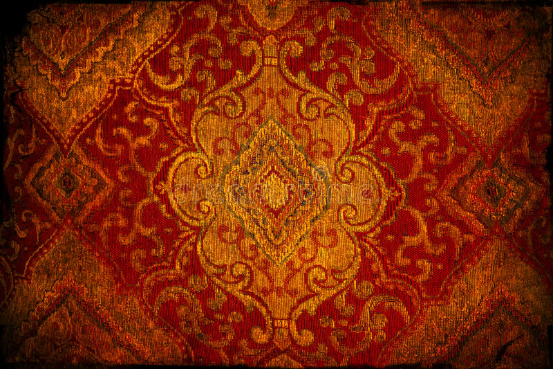 Textura del brocado foto de archivo