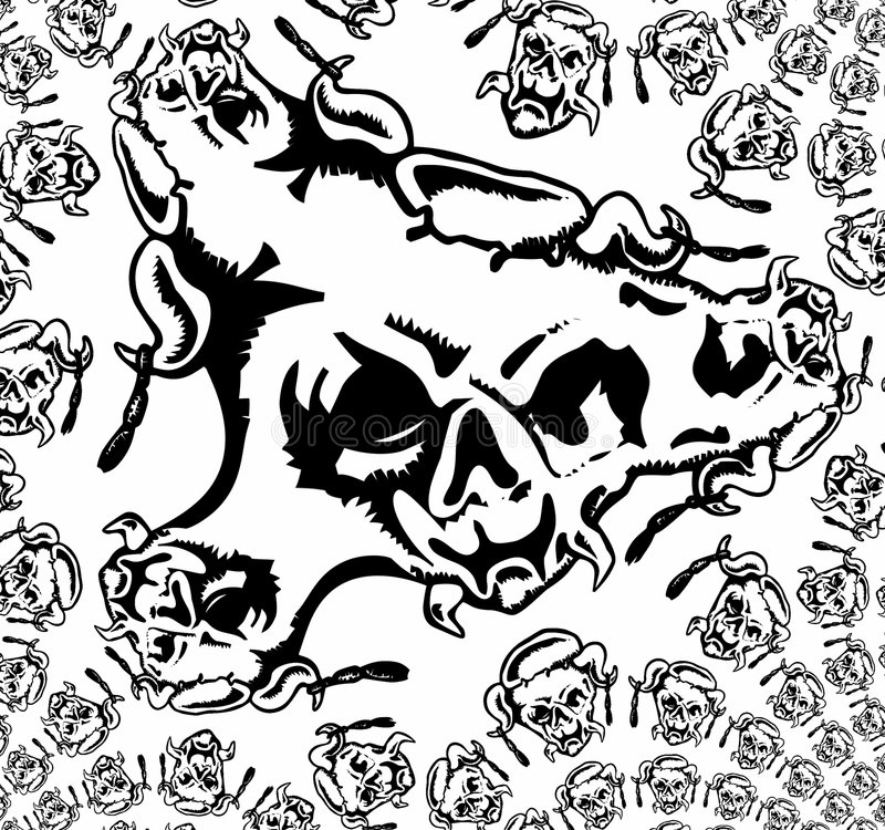 Textura del BW libre illustration