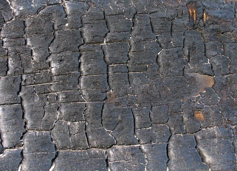 Textura del carbón de leña imagen de archivo libre de regalías