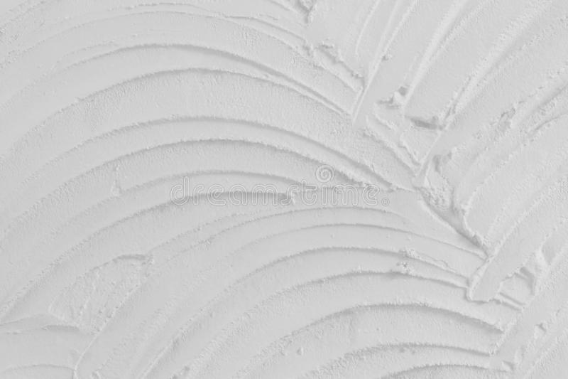 Textura del cemento o del yeso blanco del color para el trabajo de arte del fondo y del diseño, modelo del muro de cemento del gr fotografía de archivo libre de regalías