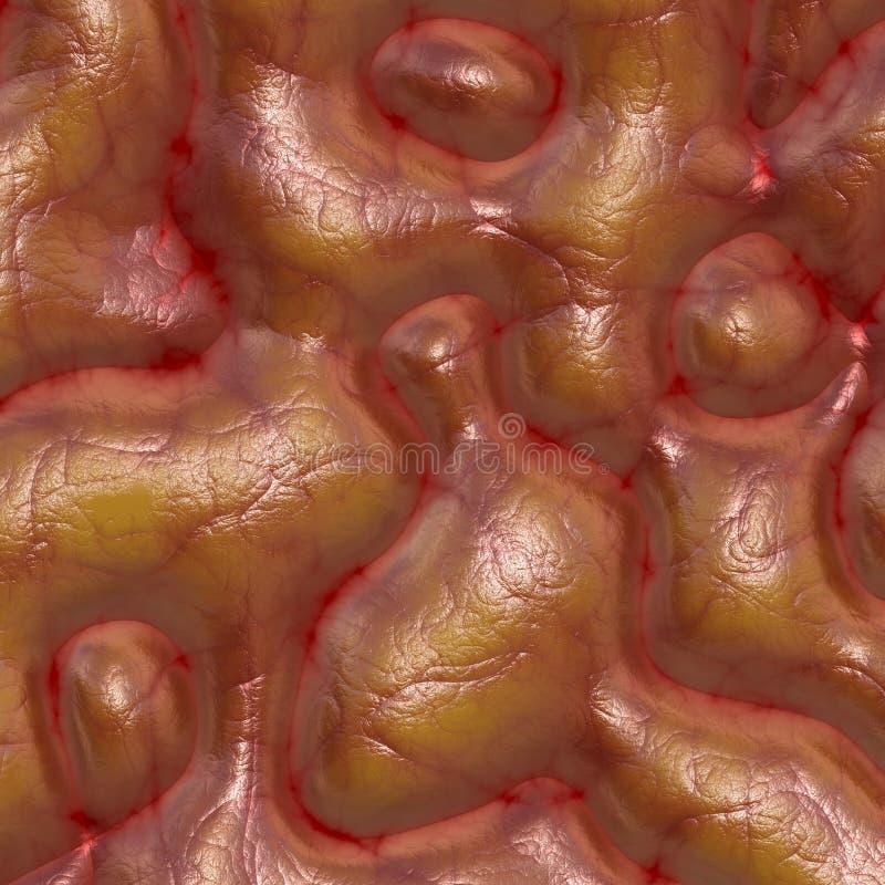 Textura del cerebro stock de ilustración