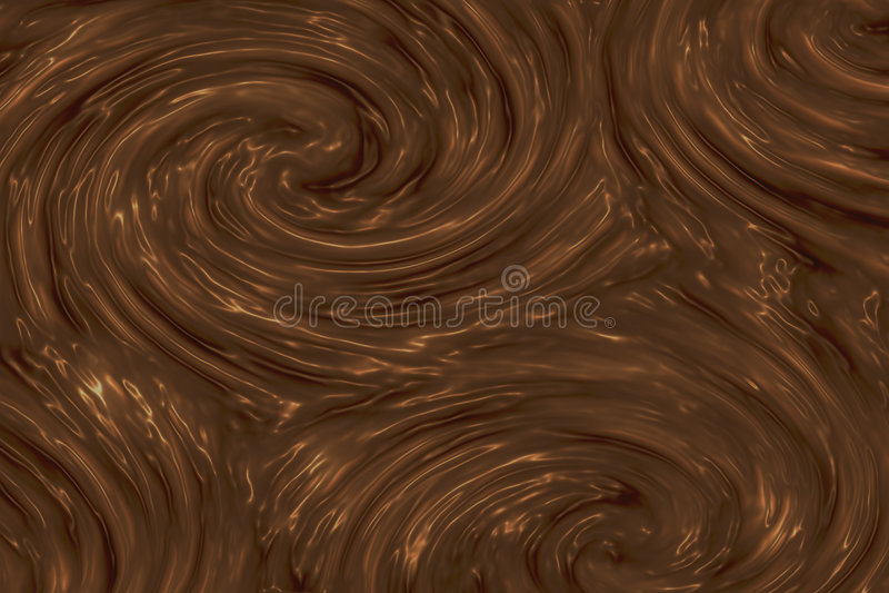 Textura del chocolate ilustración del vector