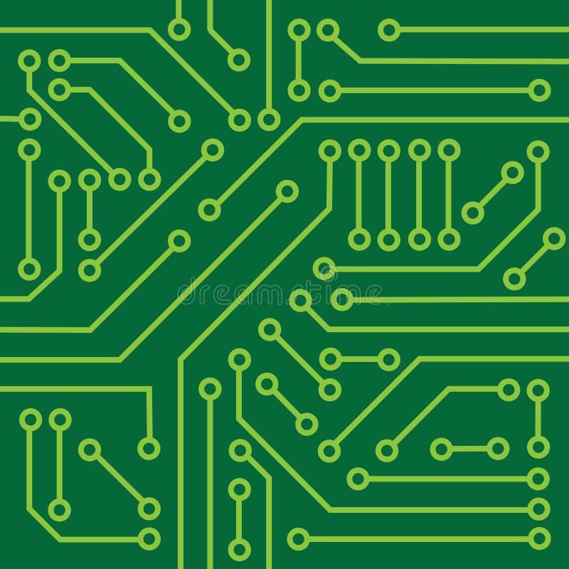 Circuito Impreso : Textura del circuito impreso ilustración vector