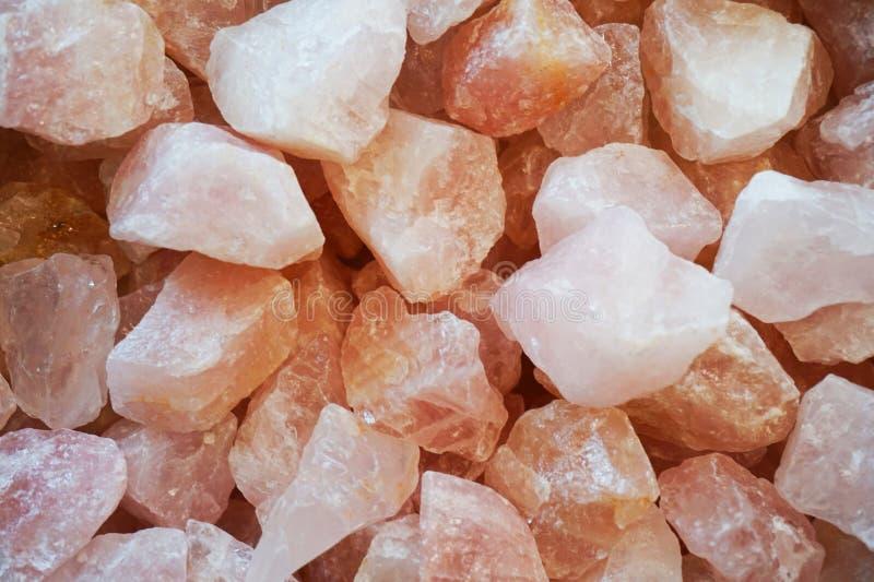 textura del cuarzo color de rosa fotografía de archivo