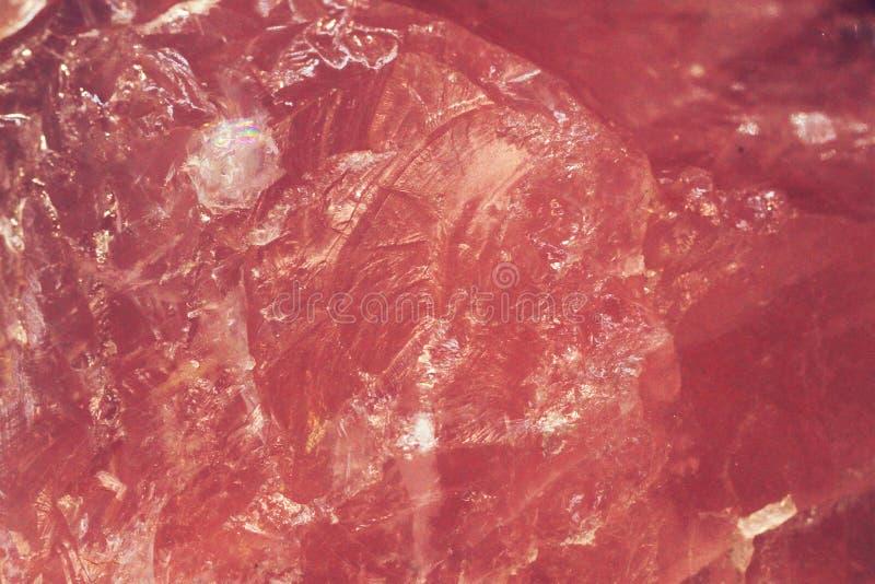 textura del cuarzo color de rosa imagen de archivo libre de regalías
