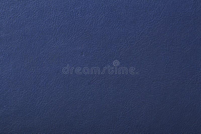 Textura del cuero azul, fondo de la textura fotos de archivo