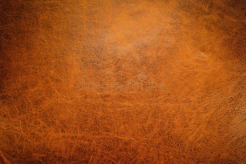Textura del cuero de Brown fotografía de archivo libre de regalías