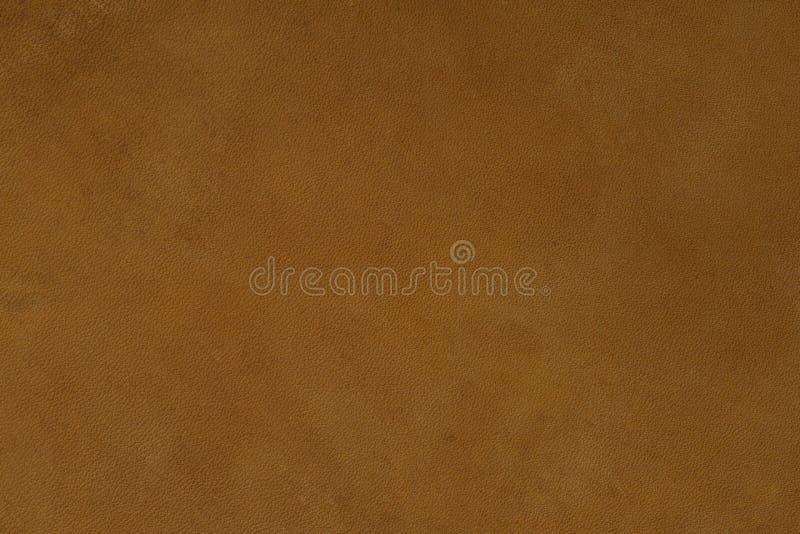 Textura del cuero de Brown en macro imágenes de archivo libres de regalías