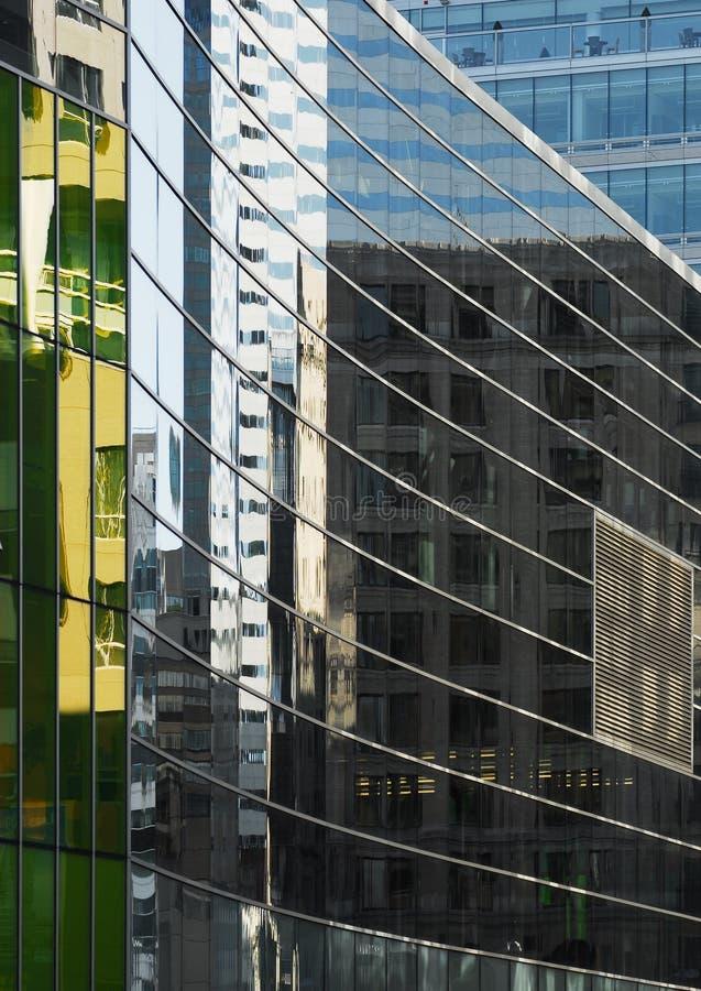 Textura del edificio de Montreal foto de archivo libre de regalías