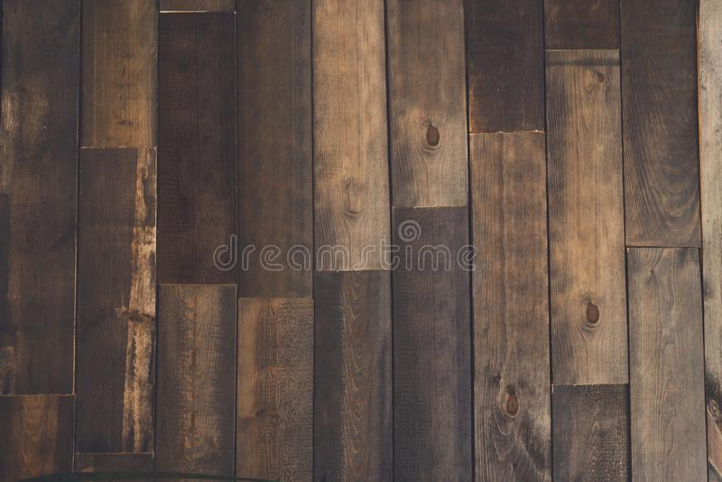 Textura del entarimado de Brown, fondo de madera fotos de archivo