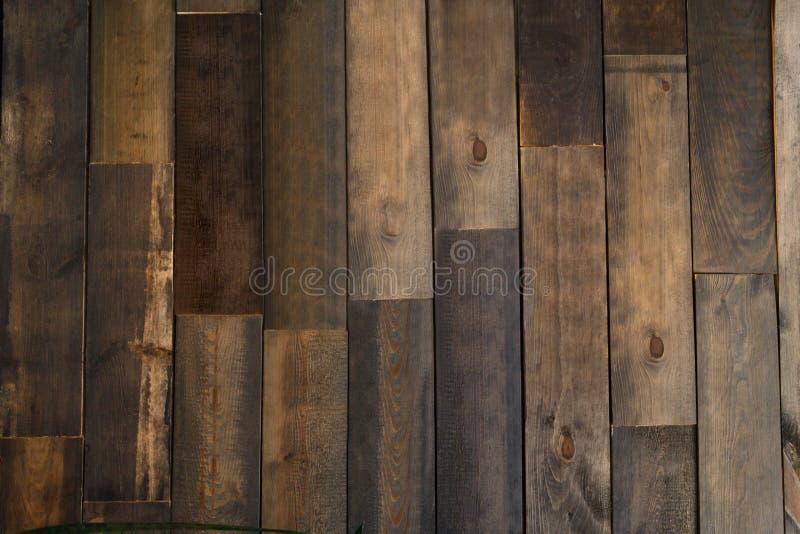 Textura del entarimado de Brown, fondo de madera foto de archivo