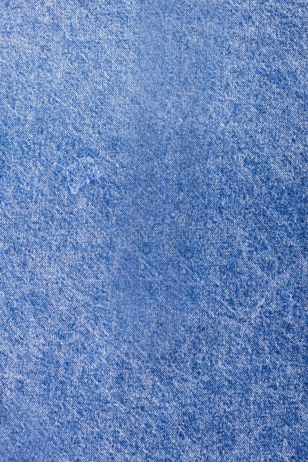 Textura del espacio vertical de la copia del fondo azul claro del dril de algodón del vintage del dril de algodón fotografía de archivo