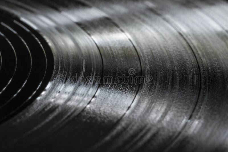Textura del expediente de negro vinilo imagen de archivo