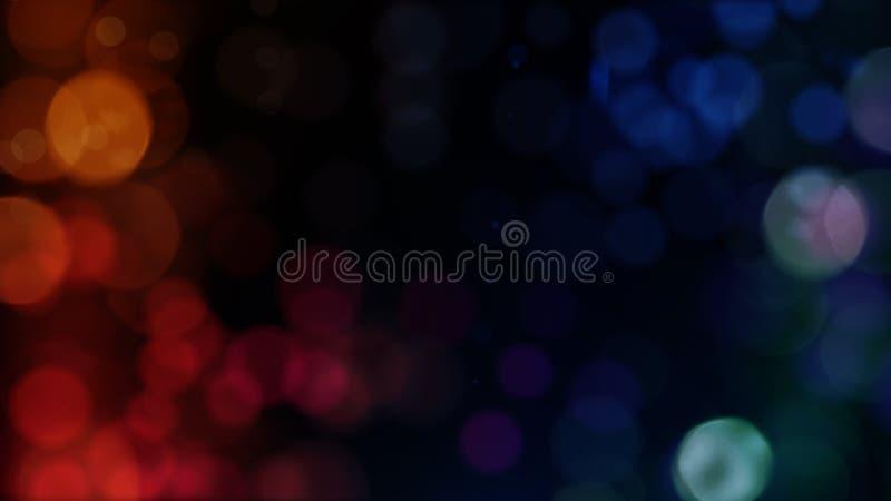 Textura del extracto de Bokeh colorido Fondo Defocused Luz brillante borrosa imagenes de archivo
