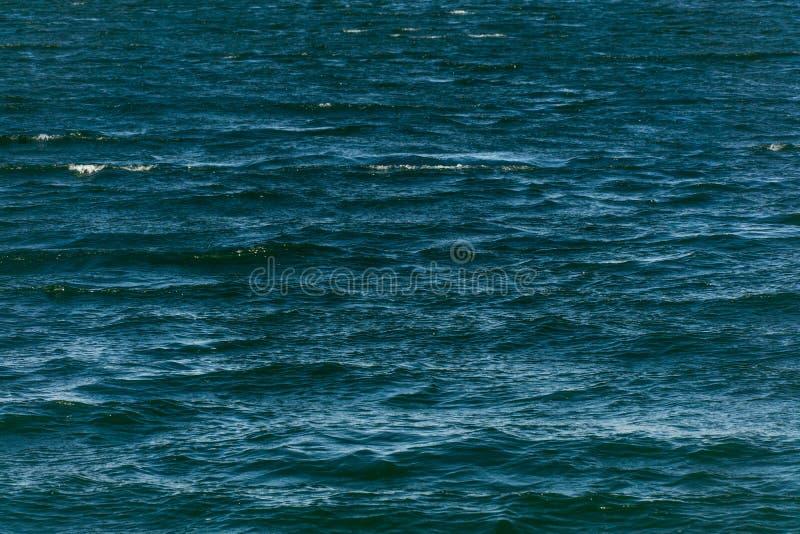 Textura del fondo del agua azul imagen de archivo