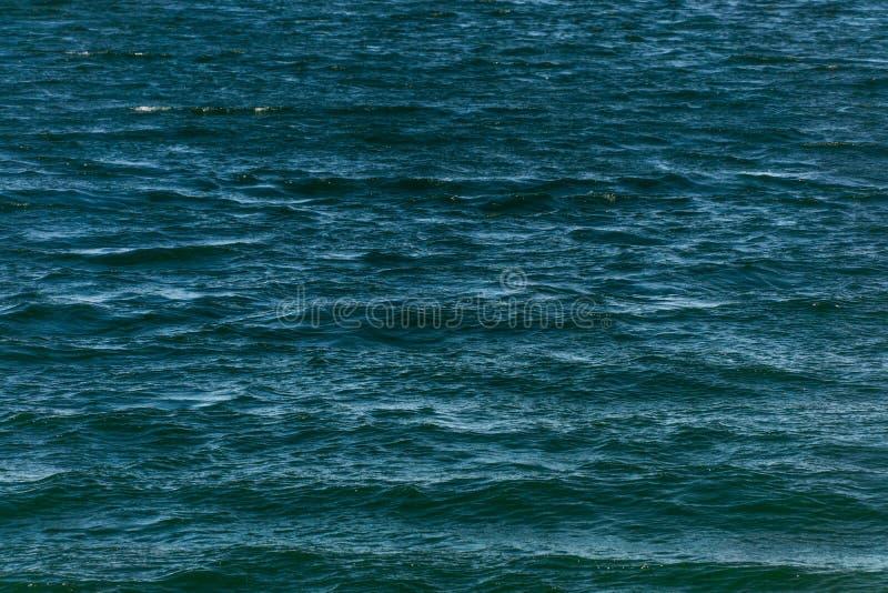 Textura del fondo del agua azul foto de archivo libre de regalías