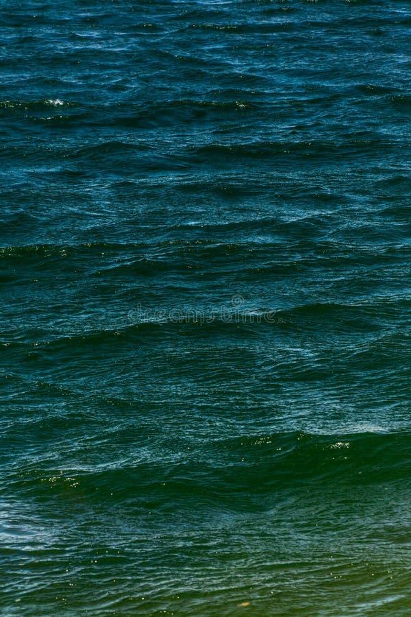 Textura del fondo del agua azul fotografía de archivo