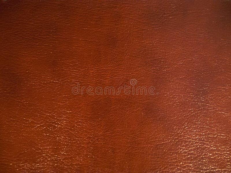 Textura del fondo del cuero del marrón oscuro foto de archivo libre de regalías