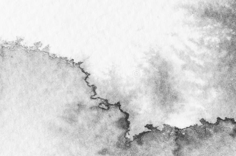 Textura del fondo de la acuarela stock de ilustración