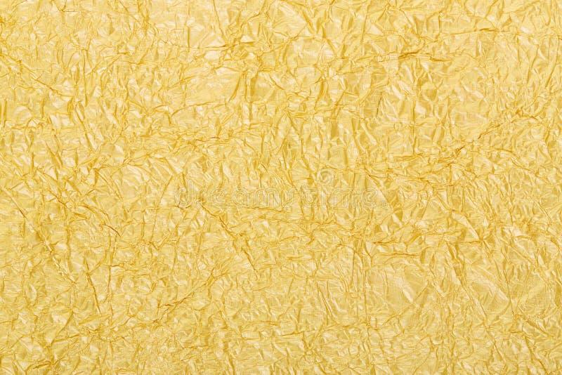 Textura del fondo de la hoja de oro imagen de archivo