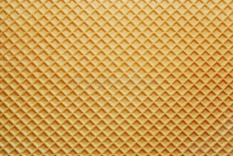 Textura del fondo de la oblea fotografía de archivo