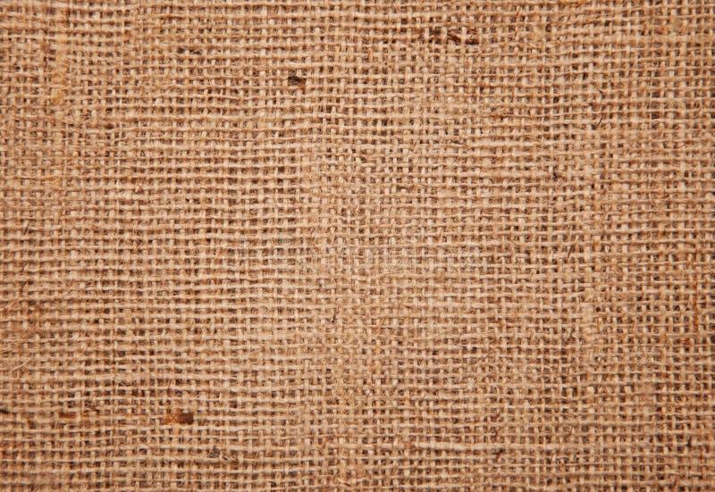 Textura del fondo de la tela de la arpillera fotos de archivo libres de regalías