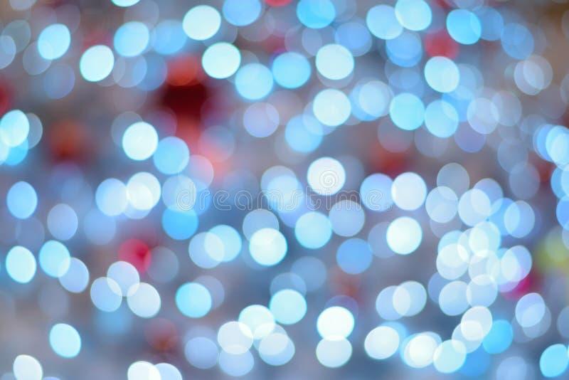 Textura del fondo de luces LED borrosas coloridas foto de archivo