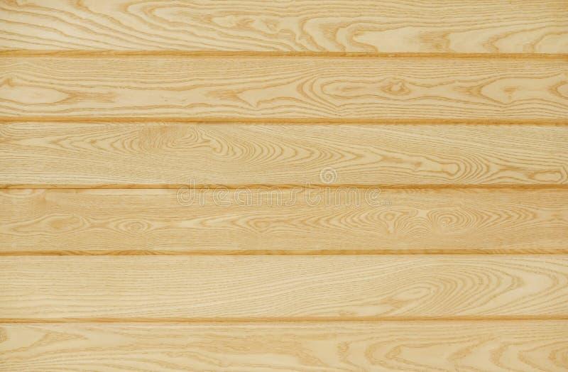 Textura del fondo de madera marrón grande de la pared de los tablones fotos de archivo