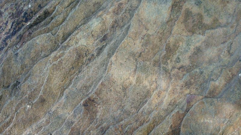 Textura del fondo de piedra marrón gris fotografía de archivo
