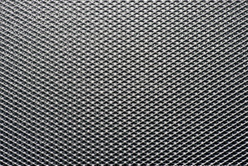Textura Del Fondo De Una Hoja De La Malla Metálica Foto De