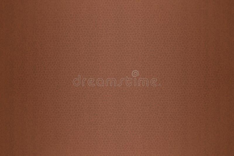 Textura del fondo del cuero de Brown ilustración del vector
