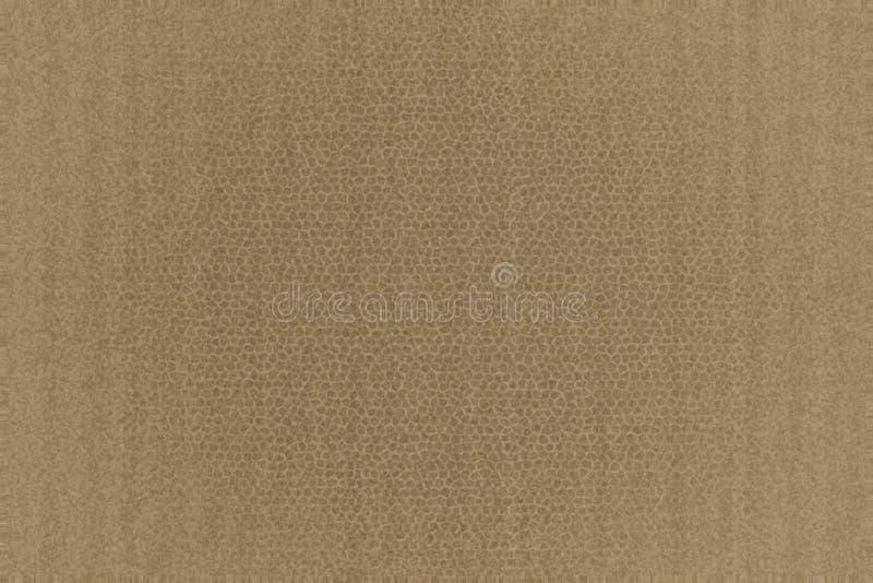 Textura del fondo del cuero de Brown stock de ilustración