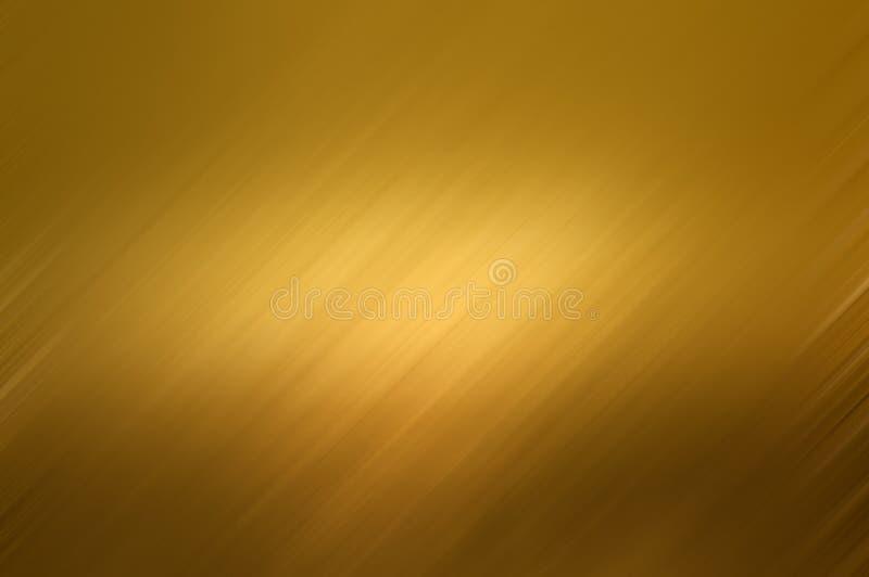 Textura del fondo del metal del oro ilustración del vector