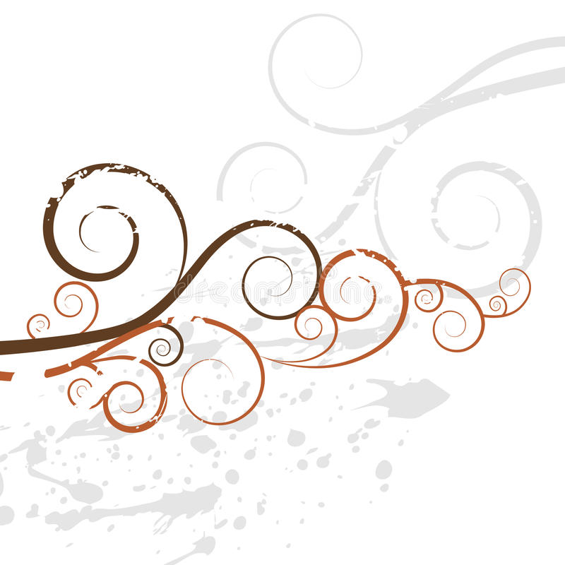 Textura del fondo del remolino de Grunge ilustración del vector