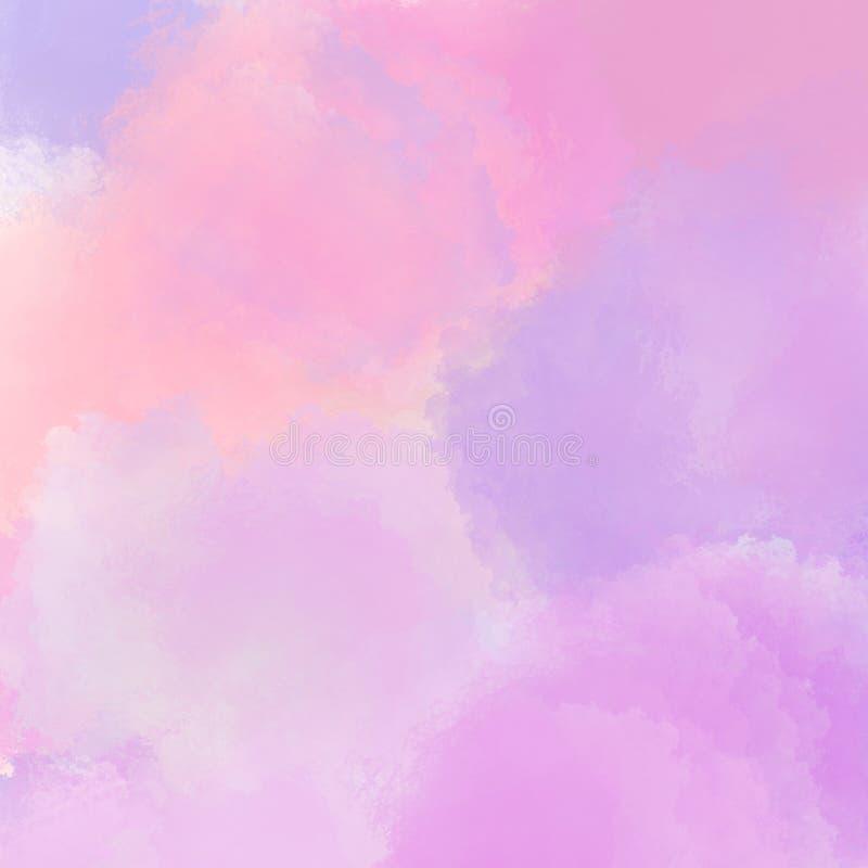 Textura del fondo Ejemplo de la moda de la mujer elegante Fondos rojos, rosa, color púrpura, anaranjado del extracto Parecer el c stock de ilustración
