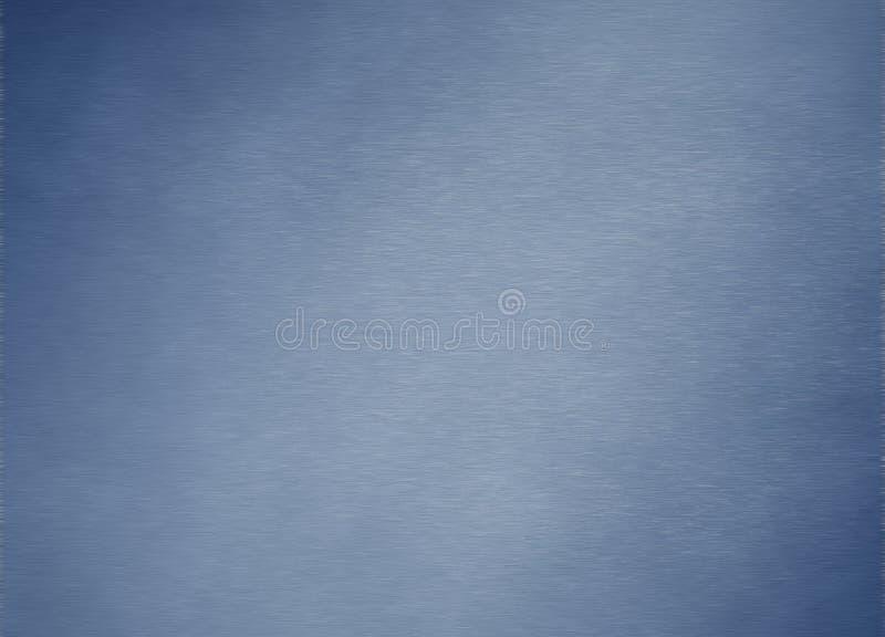Textura del fondo del metal azul de plata cepillado imágenes de archivo libres de regalías