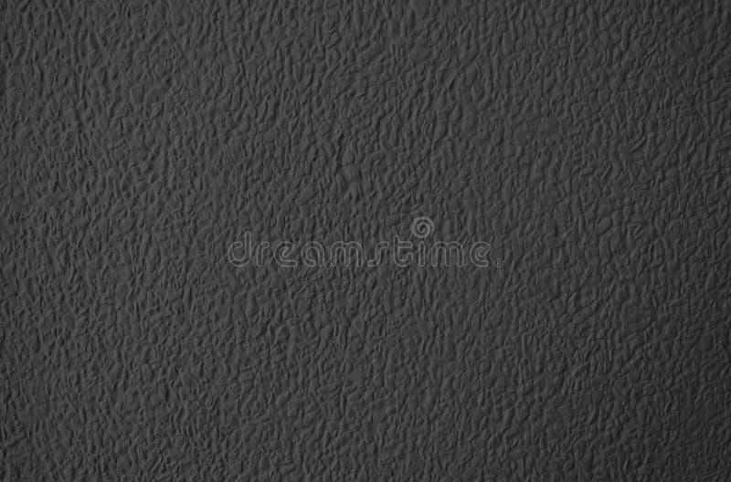 Textura del fondo negro de la pared del estuco foto de archivo libre de regalías