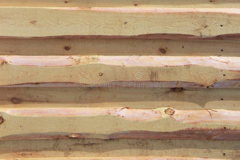 Textura del fondo Nueva pared de madera ligera hecha de tableros imágenes de archivo libres de regalías