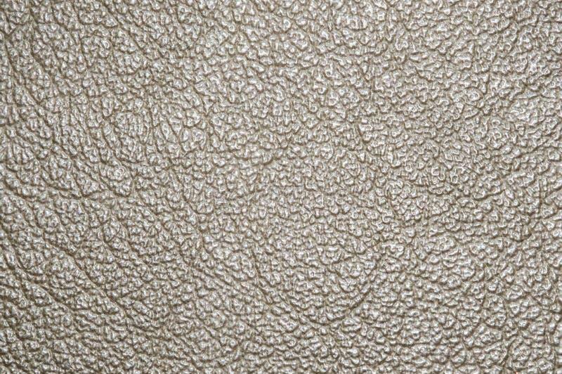 Textura del fondo del primer de la superficie del cuero de Brown fotografía de archivo