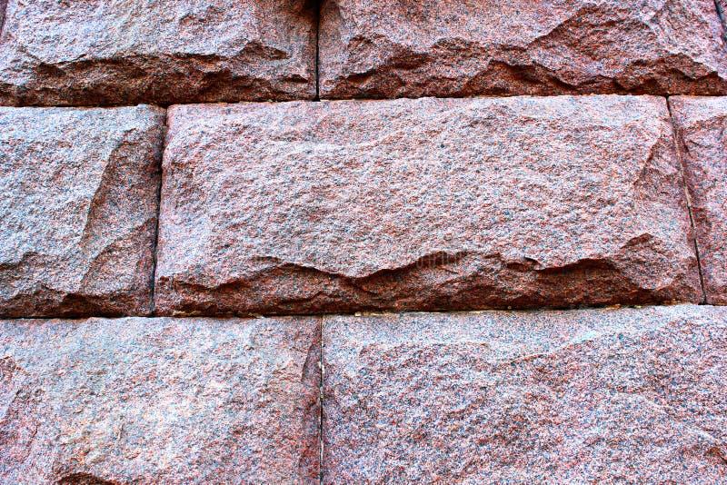 Textura del granito rojo imagenes de archivo