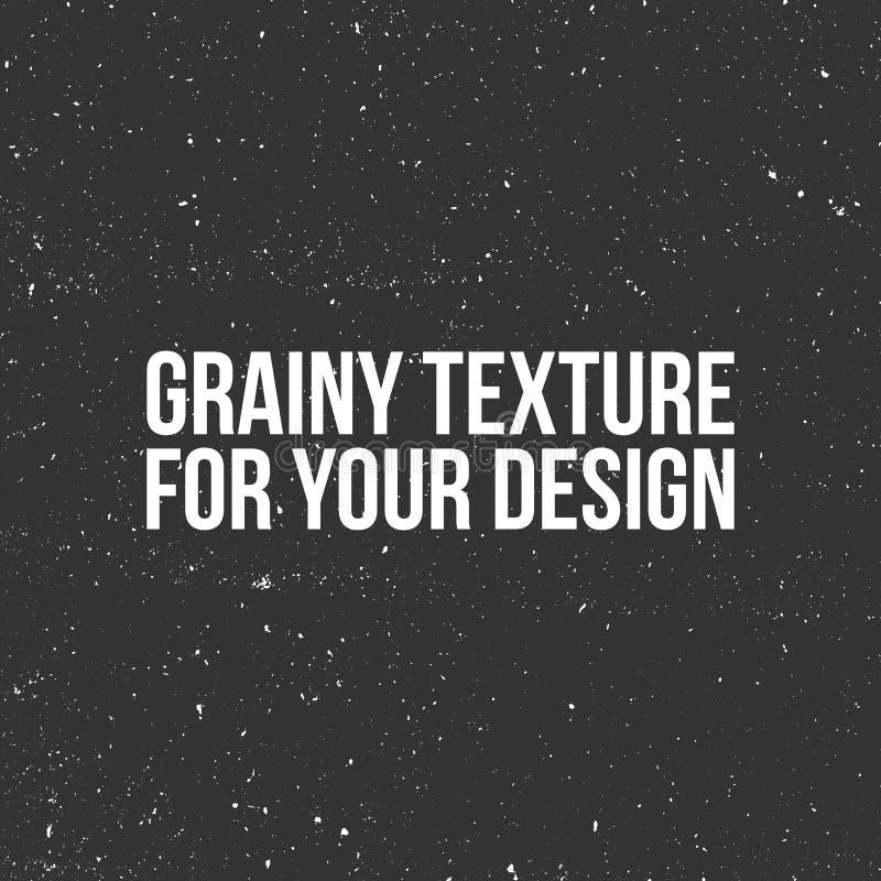 Textura del grano del vector como una nieve, un polvo o una arena libre illustration